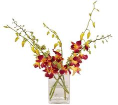 Stems and gems. Simply fit one of these flexible, bloom-shaped grids over the top of any ordinary vase, add cut flowers, and you've created an extraordinary arrangement that looks fresh from the florist! Add the set of five sparkling crystals to your floral creation for even more effortless elegance. From Easy Arranger. QVC.com