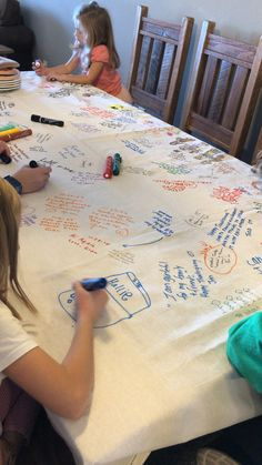 Thanksgiving Table Cloth — Helping of Happiness