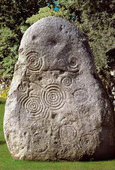 Pedra Pinta_Mamoiada Menhir, Stele di Boeli Periodo Prenuragico 3200 - 1800 A.C.