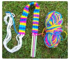 Yarn Weaving! Great For Kids And Making Bracelets! #Family #Kids #Musely #Tip