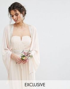 TFNC WEDDING Cover Up with Tonal Delicate Embellishment