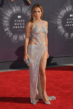 At the 2014 MTV Video Music Awards.    - ELLE.com