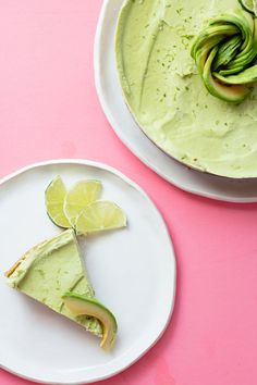 Raw Avocado Lime Tart | Nutrition Stripped
