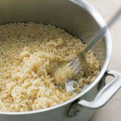 Master Recipe: Brown Rice