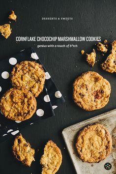 Cornflake Chocolate Chip Marshmallow Cookies from Milk: The Momofuku Milk Bar Cookbook