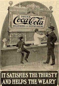 Coca Cola – Vintage Poster Design