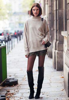 25 paires de cuissardes absolument irrésistibles , Les Éclaireuses