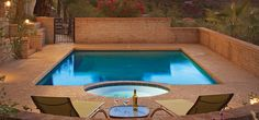 Private pool at Sanctuary on Camelback Mountain in Arizona. Click on the link at the top of my Pinterest home page for free MLS access.  Contact me so I can help you own or sell a home in Scottsdale.  Dennis Sypkens (480) 696-9201 Cell & Text.