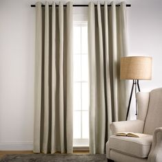 Resident Blockout Eyelet Curtain Shale for room Living Room Update, Curtains With Blinds, House Design, Interior Design, Home Decor, Ideas, Nest Design, Decoration Home, Home Interior Design