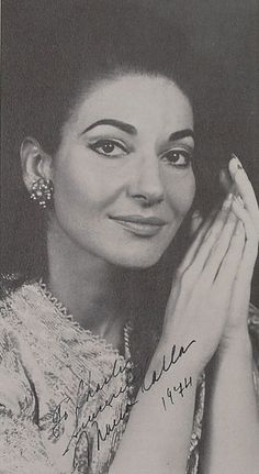 Maria Callas. Photo taken in 1968. Maria's beauty was remarkable.