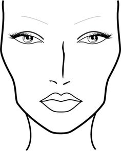 Blank Mac Face Charts Printable Sketch Coloring PageYou can find Mac face charts and more on our website.Blank Mac Face Charts Printable Sketch Coloring Page Mac Makeup Looks, Best Mac Makeup, Facechart Mac, Facechart Makeup, Face Template Makeup, Pinterest Sketches, Mac Make Up, Mac Face Charts, Makeup Tutorial Mac
