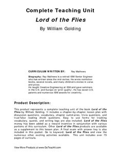 Lord Of The Flies Lessons About Human Nature