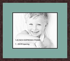 Art to Frames DoubleMultimat50281889FRBW26061 Collage Frame Photo Mat Double Mat with 1  16x20 Openings and Espresso frame >>> Details can be found by clicking on the image. (This is an affiliate link and I receive a commission for the sales)