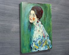 PORTRAIT OF A LADY $24.00–$698.00 This is a stunning print of Klimt called Portrait of a Lady. http://www.canvasprintsaustralia.net.au/  #CanvasprintBrisbane #photosoncanvasPerth  #CanvasprintsMelbourne