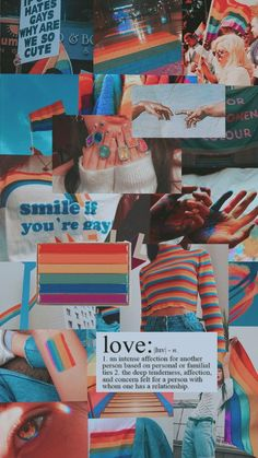"""This aesthetic is be about rainbows and gays.It gives me a gay vibe cause we use """"rainbow'' to represent the gays and it even says ''smile if you gay'' btw i don't hate the gays i think they are funny,cool,nice,and fun to be with. Pastell Wallpaper, Retro Wallpaper, Cartoon Wallpaper, Iphone Wallpaper Tumblr Aesthetic, Aesthetic Pastel Wallpaper, Aesthetic Wallpapers, Gay Aesthetic, Aesthetic Collage, Rainbow Wallpaper"""