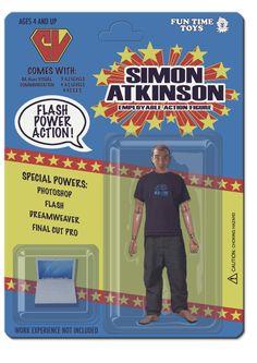 Simon Atkinson CV Front