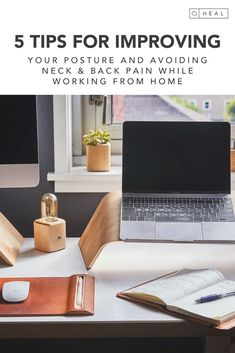 Taryn Thomas shares some recommendations for how you can improve your posture and avoid neck and back pain. All of these tips are relevant for any other office setting so definitely read on if this is something you struggle with. Nutrition Tips, Fitness Nutrition, Fix Your Posture, Neck And Back Pain, Office Set, Improve Yourself, Healing, Recovery