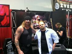 It was great to meet Rusty Coones ! Thanks to Pastor Z to set it up. #namm #namm2014 #SOA #sonsofanarchy #jasonoberly