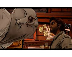 The Wolf Among Us - cel shading