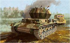 Las Cosicas del Panzer — Flakpanzer IV Ausf G Wilberwind...