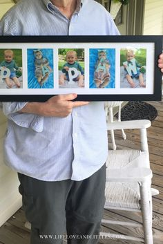 **the cutest personalized grandparents gift idea! so easy ! a simple and last minute present to give grandparents!