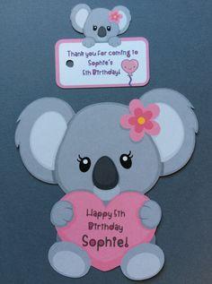 Koala bear cupcake toppers 14 koala bear koala bear cake Happy 5th Birthday, Birthday Party Themes, Birthday Kids, Cake Birthday, Koala Craft, Bear Cupcakes, Fondant Cupcakes, Baby Koala, Bear Theme