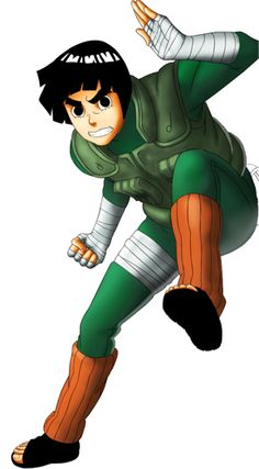 Rock Lee aka the Handsome Devil of the Leaf (:
