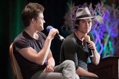Ian and Paul doing a panel in Vegas 13/9/14