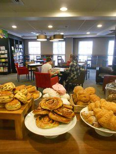 Croissants, cinnamon swirls and meringues! (Café W, Richmond)
