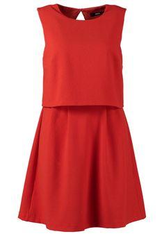 Oasis - CREPE - Vestito - arancione #red #dress