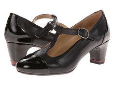 Oh! Shoes Heather Grey/Black Napa Patent - 6pm.com