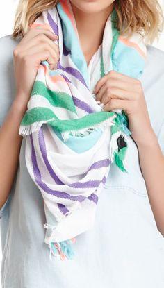 Stripes scarf