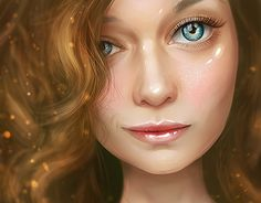 "Check out new work on my @Behance portfolio: ""Girl portrait"" http://be.net/gallery/46347565/Girl-portrait"