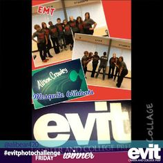 Congratulations to Alision for being one of the winners of this week's #evitphotochallenge! She is representing Mesquite High School and EMT Class at EVIT!