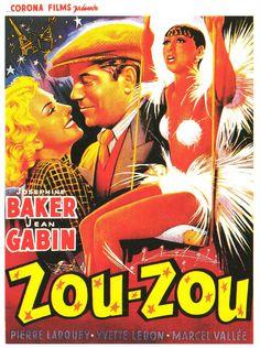 PARIS.......1934.......AFFICHE AVEC JOSÉPHINE BAKER.......BING IMAGES........