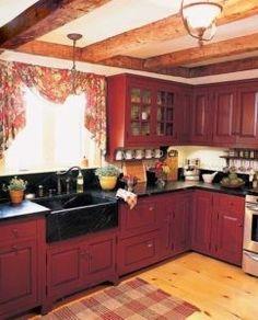 Dieses Rustikale Küche Erinnert An Den Alten Jahren, Doch Es Spricht Noch  Von Stil.