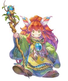 Popoi from Secret of Mana (Remake)