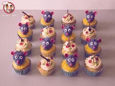 Cupcake Ratatouille - Un Jeu d'Enfant Cake Design Nantes France