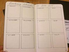 bullet journaling month at a glance - Google Search