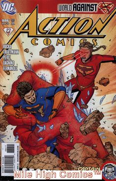 ACTION COMICS (1938 Series) (#0-600, 643-904) (DC) #886 Near Mint Comics Book