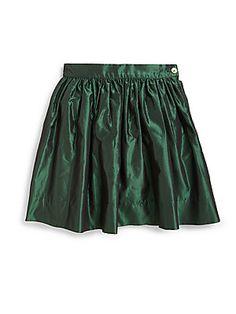 Girl's Silk Taffeta Skirt