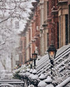 Winter is here! Winter is here! Winter Szenen, Winter Love, Winter Magic, Winter Is Here, Winter Wonderland, Ville New York, Cozy Christmas, White Christmas Snow, Xmas