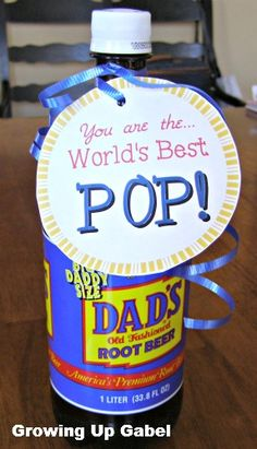 Easy Father's Day Gift and FREE Printable