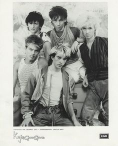 "KajaGooGoo by ©Sheila Rock |     Kajagoogoo, are a British pop band, best known for their hit single, ""Too Shy"", which reached No. 1 in the UK Singles Chart and No. 5 on the U.S. Billboard Hot 100 in 1983. - - PHOTO: photographed by american artist Sheila Rock, early 1983.    http://en.wikipedia.org/wiki/Kajagoogoo"