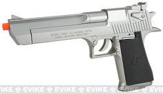 Desert Eagle Licensed Magnum 44 Airsoft Pistol - Silve