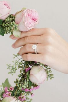 The sparkle of your engagement ring captures the special moment when you promised to share your lives together, forever
