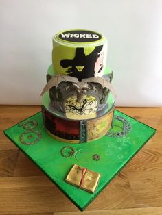 Wicked - Cake by Alanscakestocraft