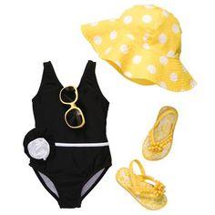 Beach Darling | Toddler Girl Swimwear