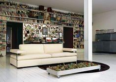 Eclectic shelf [Suteau furniture-decoration Aubron]