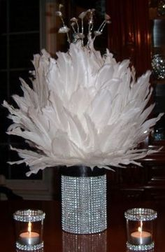 Feathers and Rhinestone what more could you want.